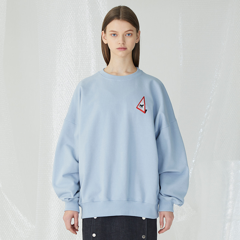 In The Field Sweatshirts - Sky Blue
