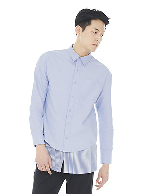 Layered Shirts - Blue