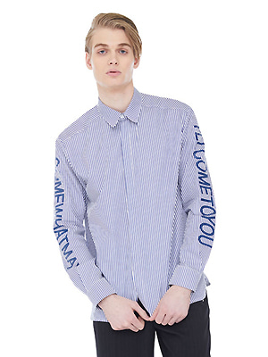 CWM stripe shirts - Blue